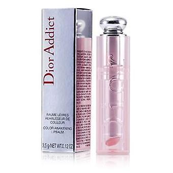 Christian Dior Dior Addict Lip Color despertar bálsamo de labio del resplandor - rosa #001 - 3.5g/0.12oz
