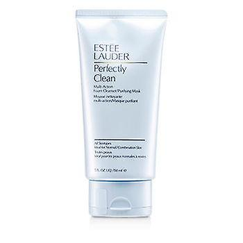 Estee Lauder Perfectly Clean Multi-Action Foam Cleanser/ Purifying Mask - 150ml/5oz