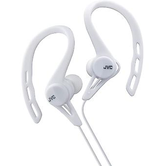 JVC In-Ear Sports Clip Headphones - White (HAECX20W)