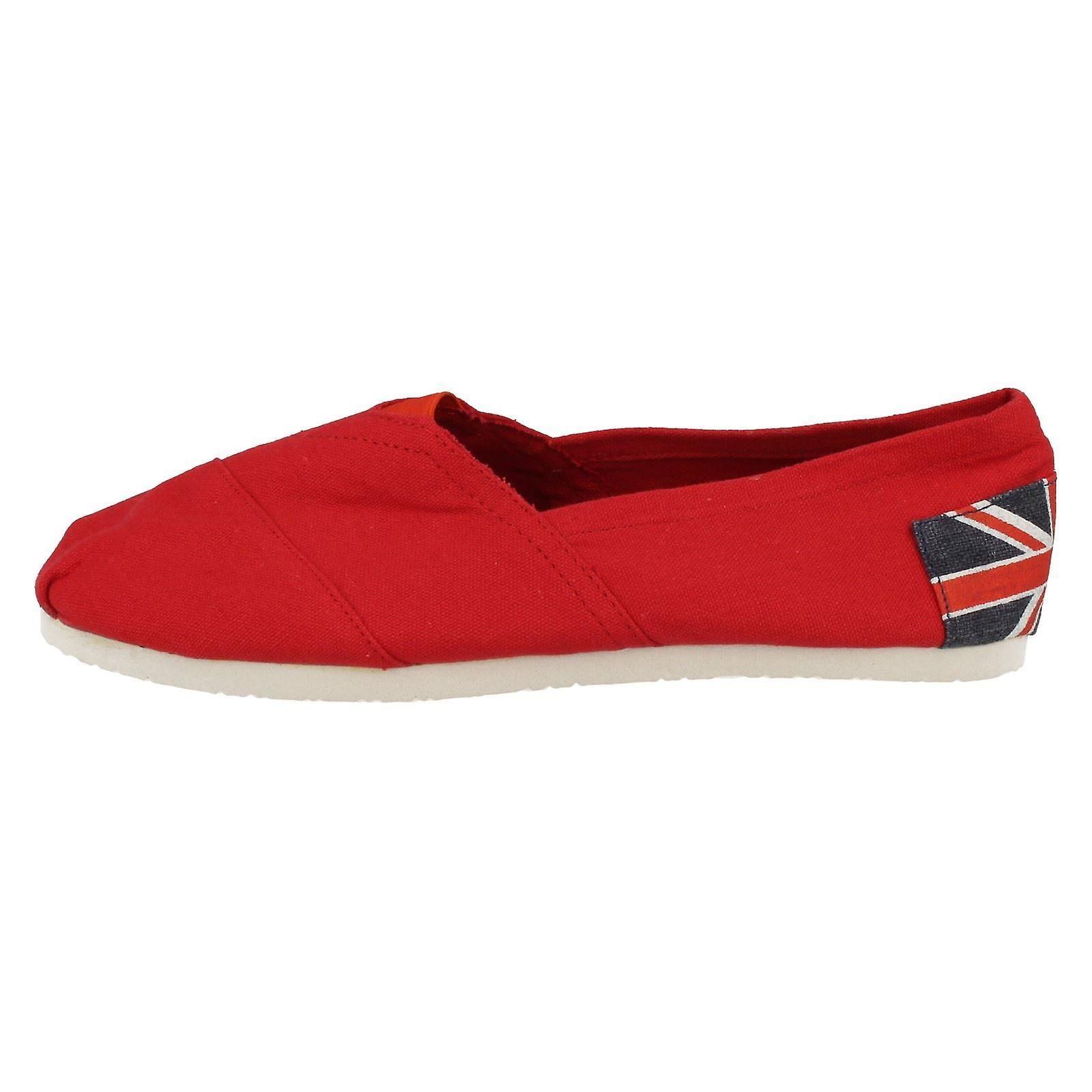 Ladies Canvas Shoes F8789 On Spot rwRxzqOr