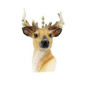 Deer Hunter Buck Hunting Cabin Lodge Fan Light Pull