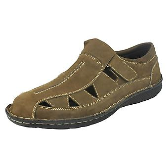 Mens Thomas Blunt Cut Out Upper Summer Shoes A1120