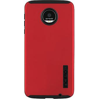 Incipio DualPro Case for Motorola Moto Z Droid Force - Red / Black