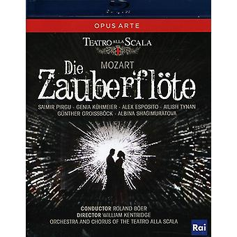 W.a. Mozart - Die Zauberflote [BLU-RAY] USA import