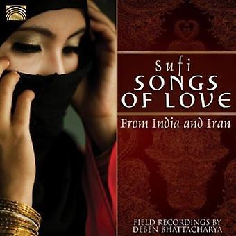 Deben Bhattacharya - importazione USA Sufi canzoni d'amore da India & Iran [CD]