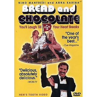 Brød & chokolade [DVD] USA importerer