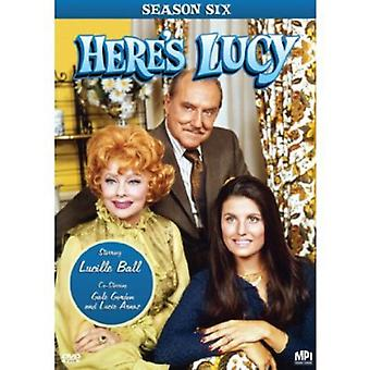 Hier is Lucy: seizoen 6 [DVD] USA import
