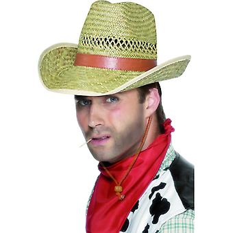 Straw cowboy hat rodeo cowboy hat straw hat