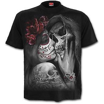 Spiral - DEAD KISS - Men's Short Sleeve T-Shirt - Black