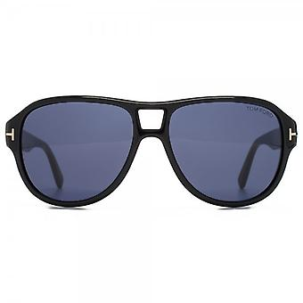 Tom Ford Dylan Sunglasses In Shiny Black