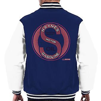 Haynes Brand Sparkford Motor Gasoline Men's Varsity Jacket