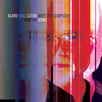 Adams / Alarm vil lyde / Pierson - opdeling Adams med Mød komponisten [CD] USA importerer
