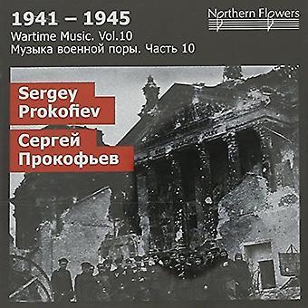 St.Petersburg State Academic Symfoniorkester - krigstid musik 10 - S.S. Prokofiev: [CD] USA importerer