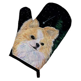 Carolines Treasures  SS8508OVMT Starry Night Chihuahua Oven Mitt