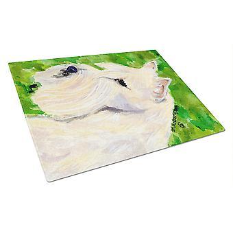 Carolines Schätze SS8791LCB Scottish Terrier Glas Schneidebrett groß