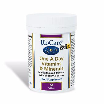 Biocare One-A-Day Multivitamins & Minerals 30 Tablets