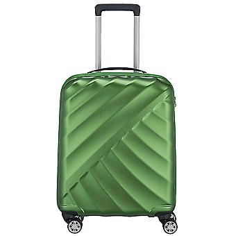 Titanium shooting star 4-roller Boardcase cabin hand luggage trolley 55 cm