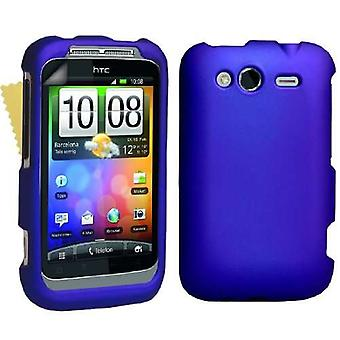 Yousave Accessories HTC Wildfire S Hybrid Case - Blue