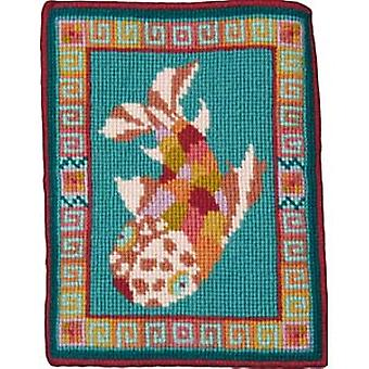 Carp Tile Needlepoint Kit