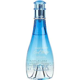 Cool Water Pacific Summer By Davidoff Edt Spray 3.4 Oz (Limited Edition 2017) *Tester