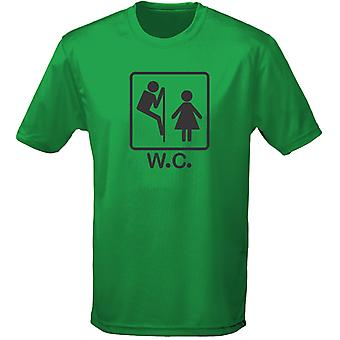 W.C Toilet Humor Rude Naughty Mens T-Shirt 10 Colours (S-3XL) by swagwear