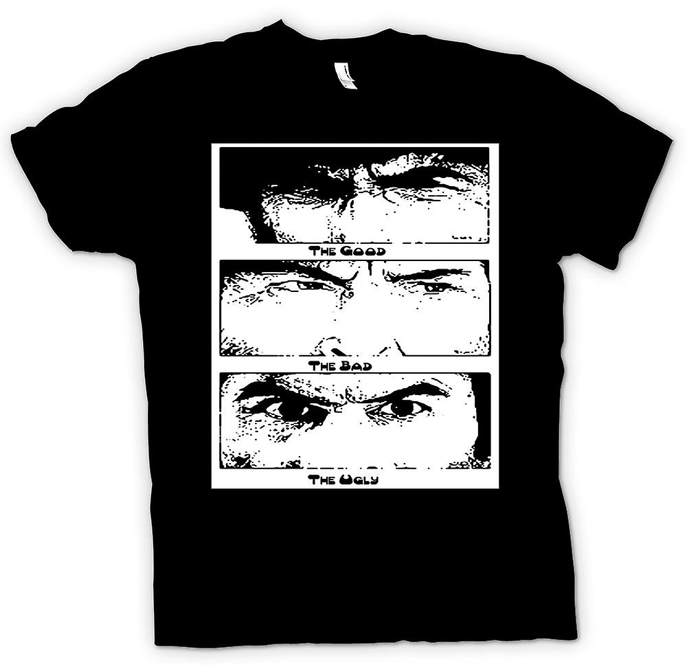 Kids T-shirt - Good Bad and the Ugly - BW