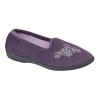 1bf00207a499a Sale Zedzzz Womens/Ladies Heather Floral Slippers