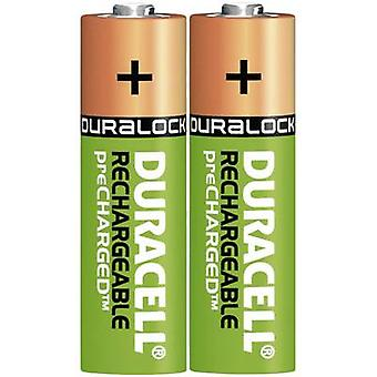 AA battery (rechargeable) NiMH Duracell PreCharged HR06