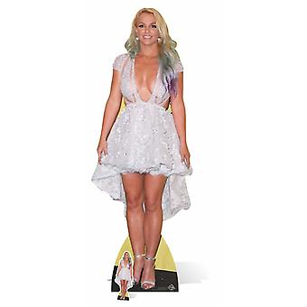 Sagoma di cartone a grandezza naturale di Britney Spears