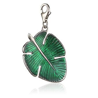 s.Oliver jewel ladies pendant charm silver tropical leaf SOCHXL/24 - 393461