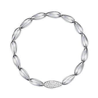 Esprit Damen Armband Armkette Silber Droplet ESBR11879A165