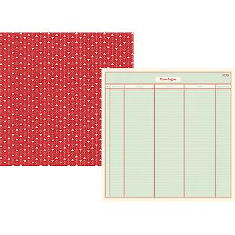 Travel Notes Double-Sided Cardstock 12