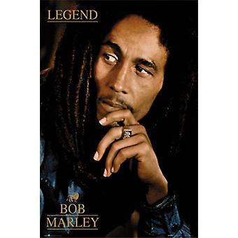 Bob Marley-légende légende affiche Poster Print