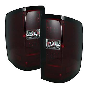 Spyder Auto 5080028 LED Tail Lights Red/Smoked