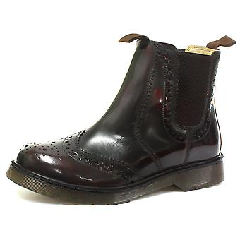 Grafters Leather Brogue Gusset Dealer Mens Boots  AND COLOURS