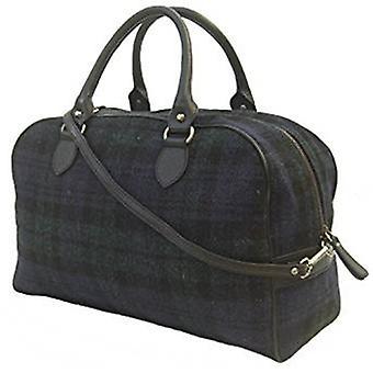 Harris Tweed Overnight Handbag (Harris Tweed Black Watch)