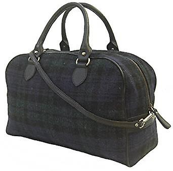 Harris Tweed nuit sac à main (Harris Tweed noir Watch)