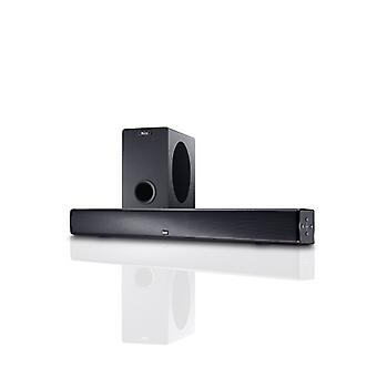 MAGNAT SBW 250, full active home theater sound bar with wireless subwoofer, new goods