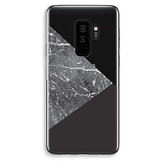 Samsung Galaxy S9 Plus transparentes Gehäuse (Soft) - Marmor-Kombination