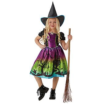 Ombre witch witch dress gorgeous witch costume for kids
