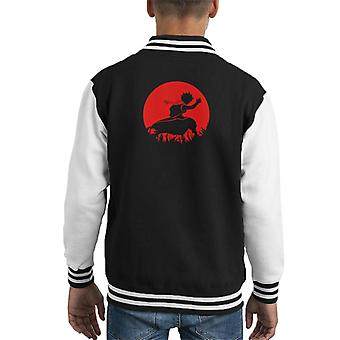 Fairy Tail Natsu Fiamme Kid's Varsity Jacket
