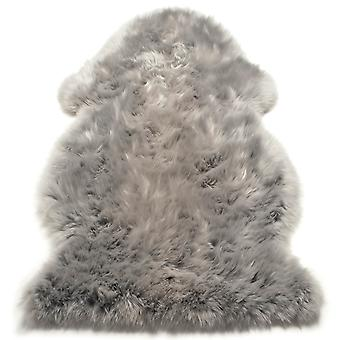 Sheepskin Rugs In Silver