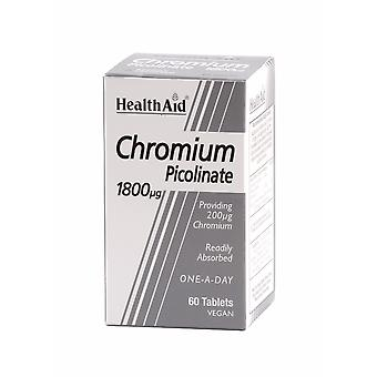 Health Aid Chromium Picolinate 200ug ,  60 Tablets