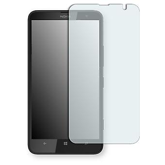 Nokia Lumia 1320 LTE display protector - Golebo Semimatt protector (deliberately smaller than the display, as this is arched)