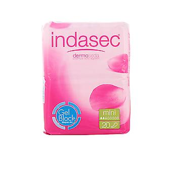 Indasec Dermoseda Compresa Incontinencia Mini 20 Units Womens New