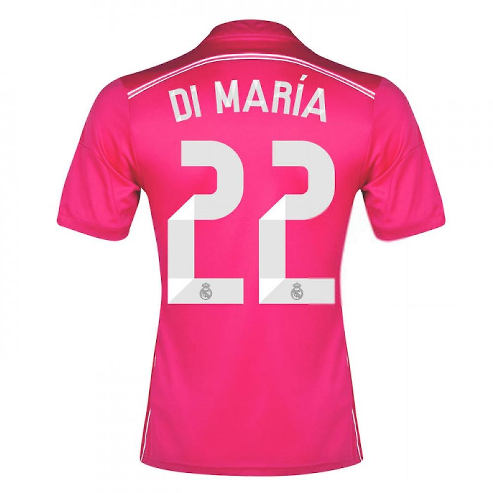 2014-15 Real Madrid Away Shirt (Di Maria 22)