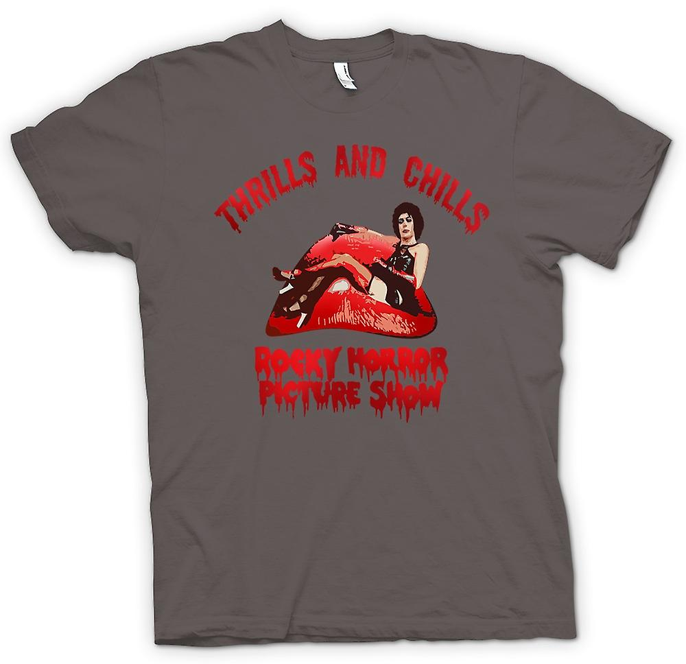 Hommes T-shirt - Thrills Frissons Rocky Horror Picture
