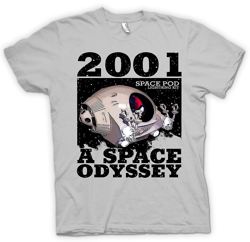 Heren T-shirt - 2001 Space Odyssey - ruimte Pod