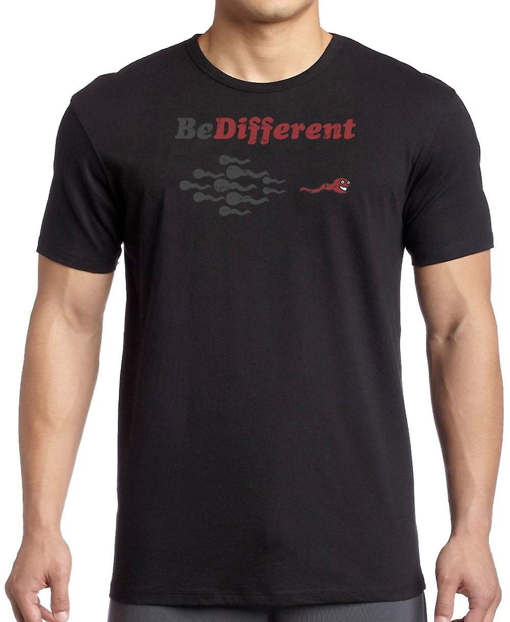 Be Different - Drôle sperme femmes T-shirt