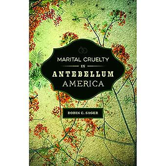 Marital Cruelty in Antebellum America (Conflicting Worlds: New Dimensions of the American Civil War)